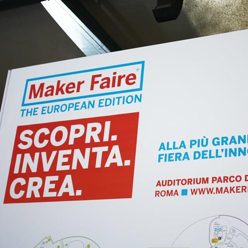 Maker Faire Rome 3/5 Ottobre 2014