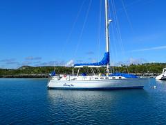 lagoon(0.0), sailing ship(0.0), luxury yacht(0.0), yacht(0.0), ship(0.0), bay(0.0), dock(0.0), passenger ship(0.0), sail(1.0), sailboat(1.0), vehicle(1.0), sailing(1.0), sea(1.0), mast(1.0), watercraft(1.0), marina(1.0), boat(1.0),
