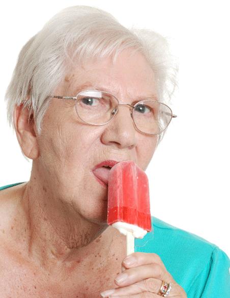 45 — баба ягодка опять