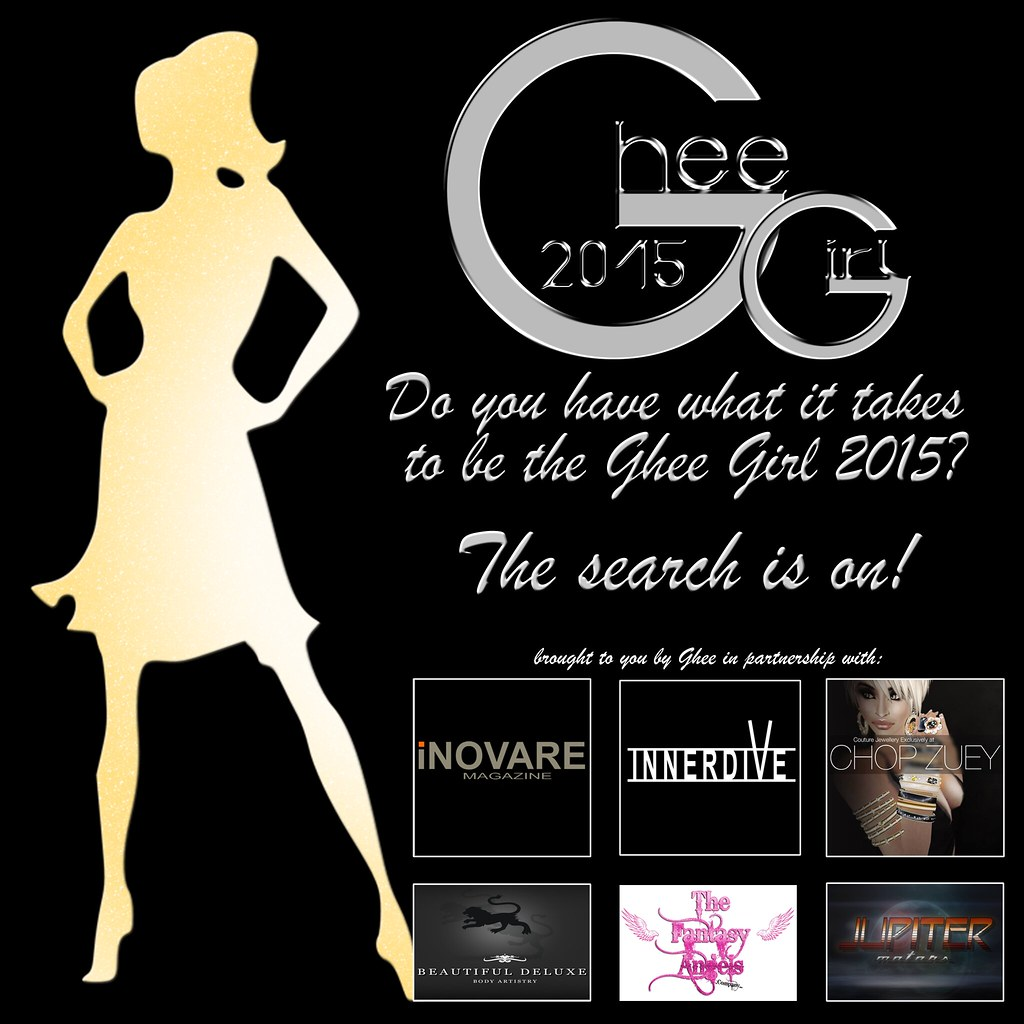 Ghee Girl 2015 - the search is on!