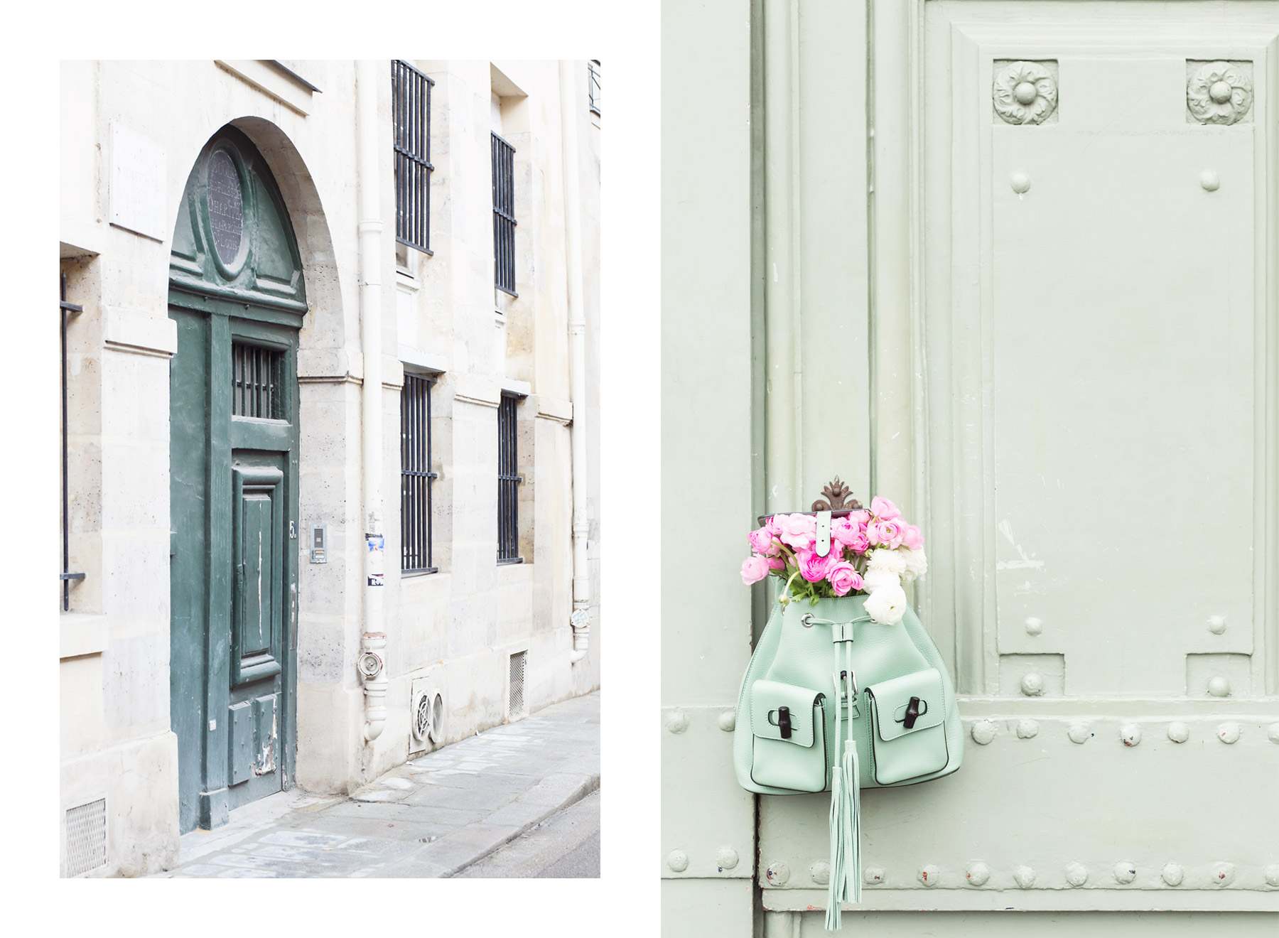 Pastel colours around Paris
