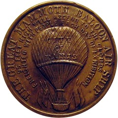 Selma Circus and Balloon Show Token reverse