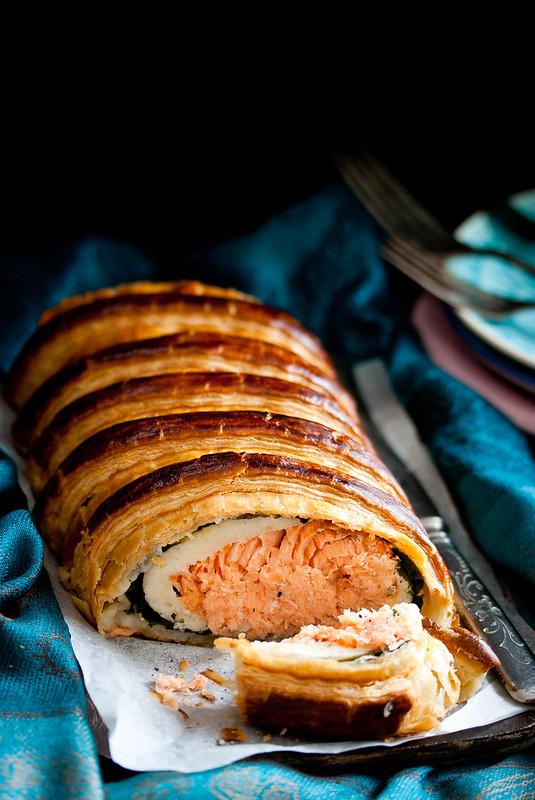 Lachsforellen-Pastete