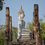 Wat Sa Si Ban Na yakın görüntü. travel nature thailand bangkok culture buddhism temples chiangmai krabi lanna tempel sukhothai lampang kolanta ayutthaya reizen 2014 arps paularps afsdxnikkor18140mm