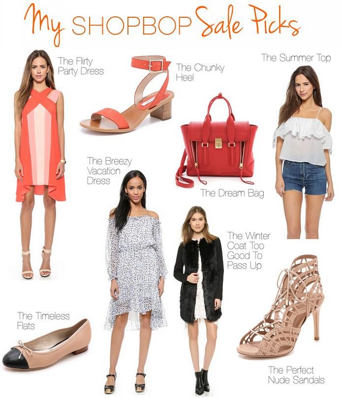 My Shopbop Sale Picks | #LivingAfterMidnite