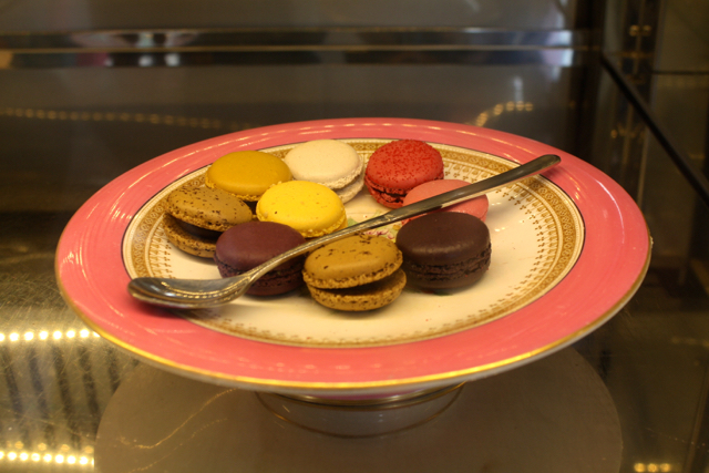 Macaroons at Peggy Porschen, London