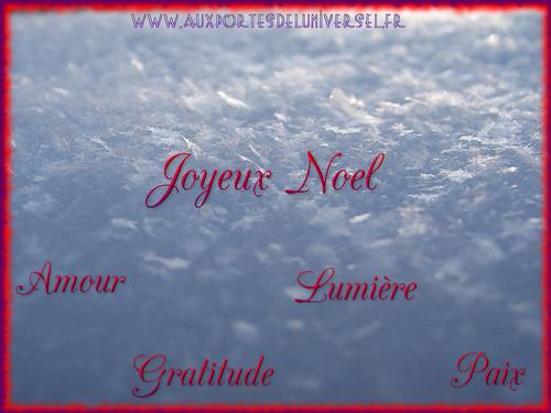 Joyeux Noel 2014 de la boutique ésotérique en ligne Aux Portes de l'Universel