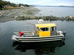 EagleCraft Aluminum Boat - 43' Landing Craft