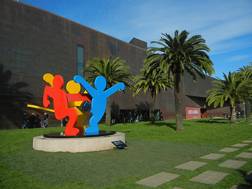 DSCN9779 _ Keith Haring The Political Line, De Young, 27 Dec 14