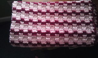Crochet Blanket Block Party Baby Blanket