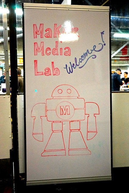 Maker Media Lab Wearable Meetup