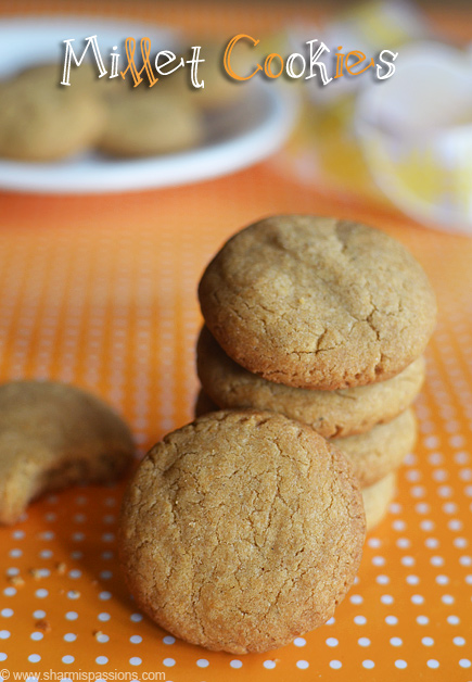 Millet Cookies Recipe