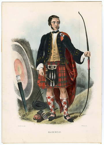 010-Clans_of_the_Scottish_Highlands_1847_Plate_033-The Metropolitan Museum of Art-Thomas J. Watson Library