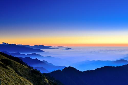 sunset mountain taiwan 夕陽 台灣 tarokonationalpark 南投縣 太魯閣國家公園 nantoucounty hehuanmountain 合歡山主峰 仁愛鄉 renaitownship 仁和路