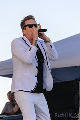 Mark McGrath (Sugar Ray) at Huntington Beach Music Festival, 6 September 2014