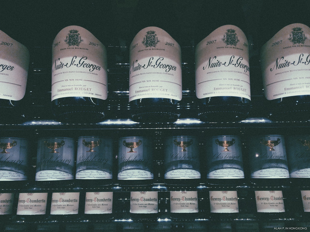 Fine Wines in Professional Cellar