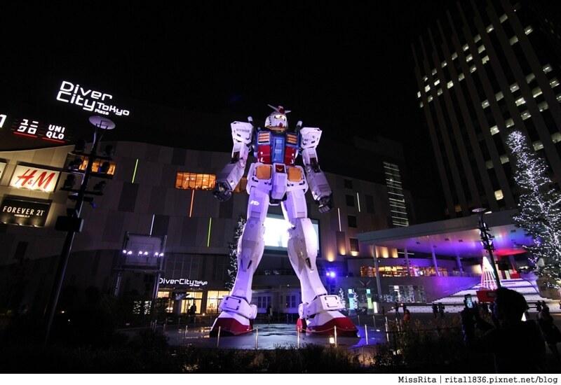 日本台場 鋼彈 彩虹大橋 自由女神 景點15