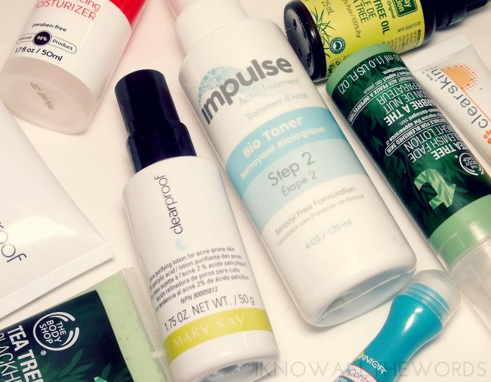 mary kay clear proof pore purifying lotion and impulse acne treatment bio toner