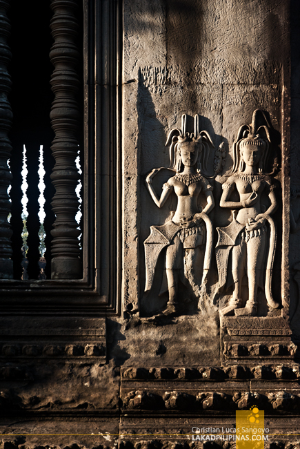 Angkor Wat Carvings in Siem Reap