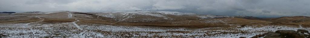 Hound Tor Panorama #SH