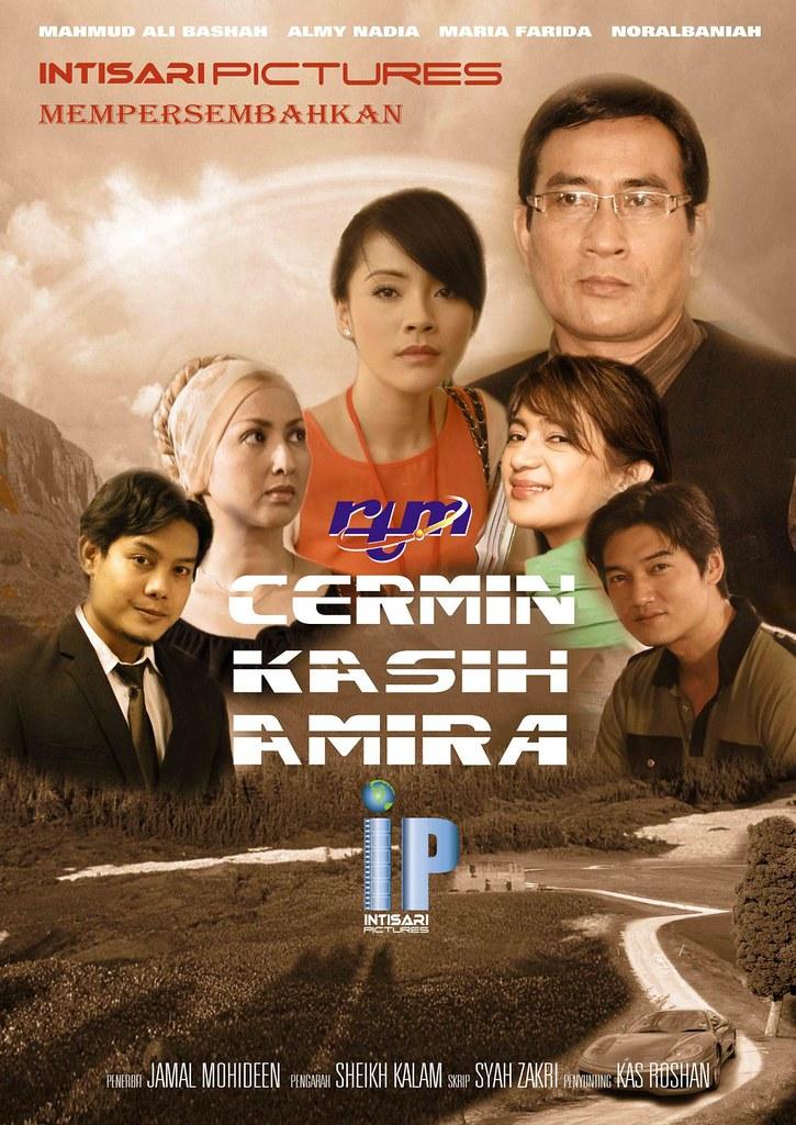 poster drama bersiri Cermin Kasih Amira