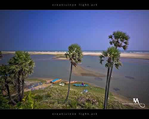 sea ruins fort remnants tamilnadu bayofbengal alamparaifort creativince