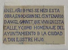 Photo of White plaque № 39105