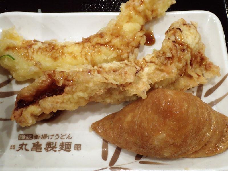 天ぷらといなり