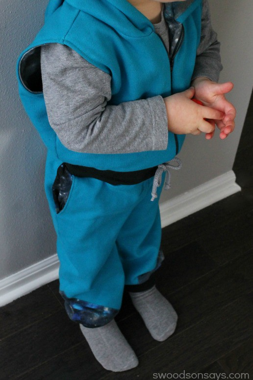 Toddler Jumpsuit Sewing Pattern