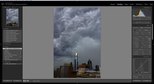 Storm Panorama - Stage 3