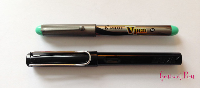 Review Pilot VPen Fountain Pen - Light Green @PilotPenUSA @JetPens (4)
