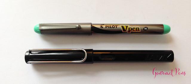 Review Pilot VPen Fountain Pen - Light Green @PilotPenUSA @JetPens (4)