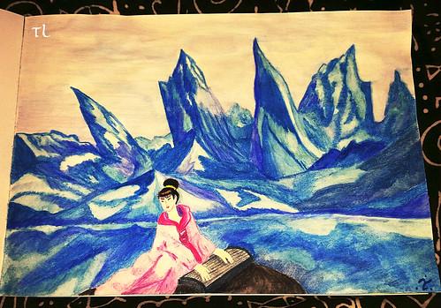 Kuan-yin ... Tribute to Nicholas Roerich