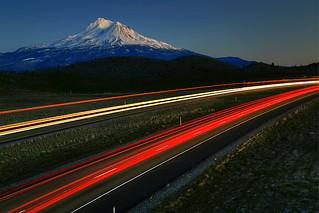 Shasta over Freeway