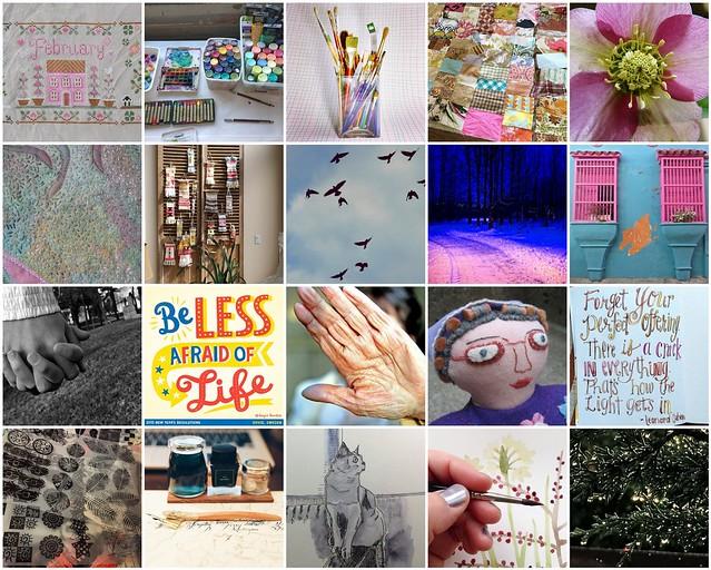 Inspiration Mosaic February 2015