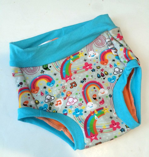 Bumstoppers TrainingBums� 4T Happy Rainbows