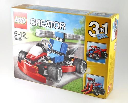 LEGO Creator 31030 Red Go-Kart box01