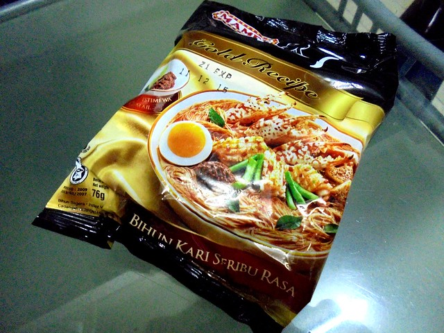 Mamee Chef Gold Recipe instant curry bihun 1