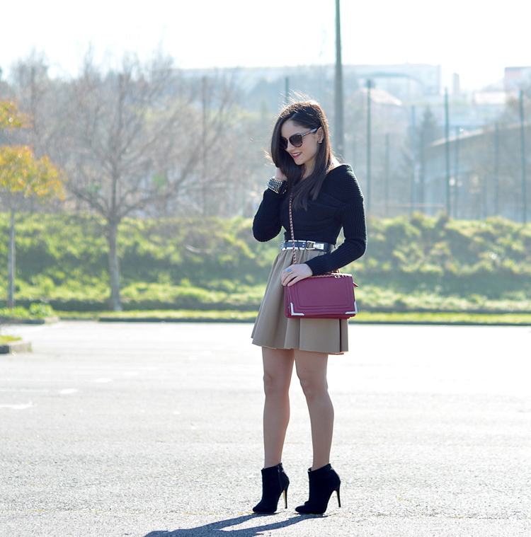 Zara_ootd_camel_chicwish_outfit_burdeos_boots_botines_04