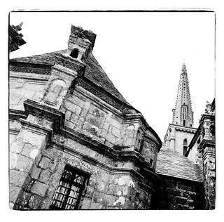 Les eglises en Bretagne/die Kirchen der Bretagne/ the churches of litte Brittany