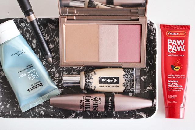 weekend makeup essentials