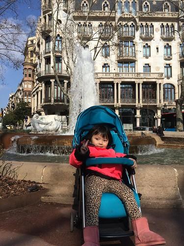 西班牙 巴塞隆納 格拉西亞大道 Passeig de Gràcia Barcelona Spain