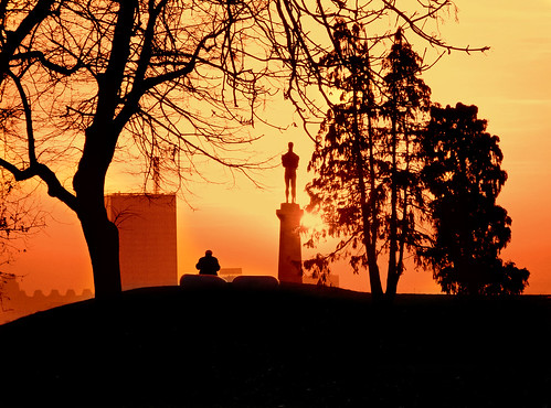 city sunset people orange sun colorful view capital serbia belgrade beograd landscap belgrado challengeyouwinner