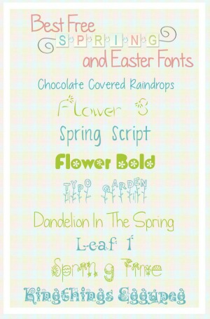 Best Easter Fonts