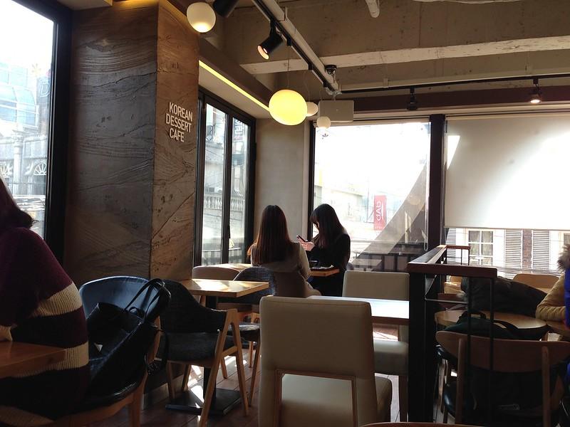 Korean Dessert Cafe.