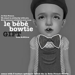 Le Bebe Bowtie Gift