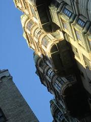Ansonia Apartment Building Detail 3878