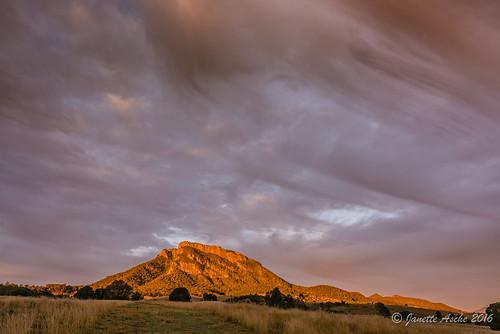2016 australia mtmaroon qld queensland sonya7r beautiful clouds scenicrim seqld sunrise winter sky rural farmland grassland