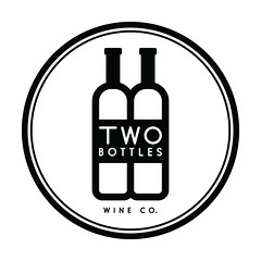 Two Bottles Wine Co. Logo