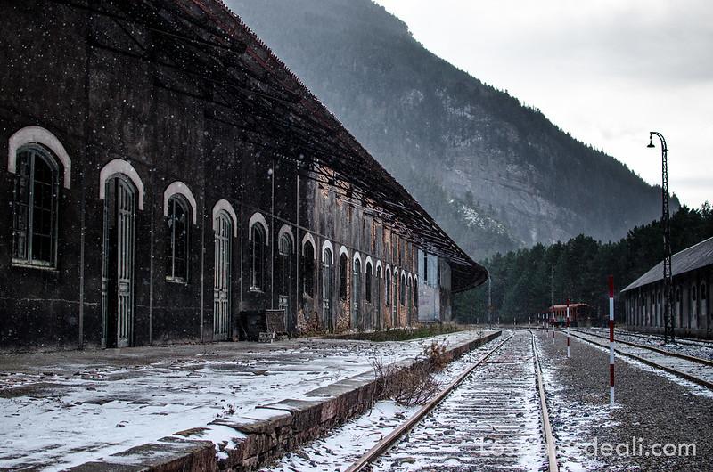 estación de Canfranc en la Jacetania